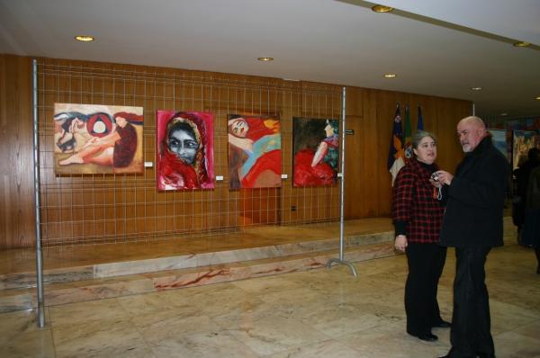 Exposición Arte pela Paz, Horta